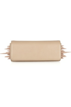 The Christian Louboutin Spiked Clutch @Christian Louboutin