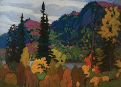Masters Gallery Ltd Franklin Carmichael, Tom Thomson, Emily Carr, Group Of Seven, Canadian Art, Artist At Work, Beautiful Landscapes, All Art, Fine Art