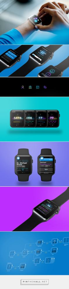Health -  Apple Watch App Concept on Behance https://www.behance.net/gallery/28845679/Health-Apple-Watch-App-Concept