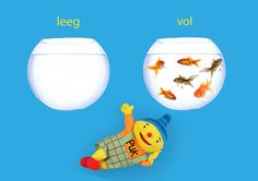 Rekenprikkels - Tegenstellingen - leeg, vol Dutch Language, Math For Kids, Speech And Language, Cool Kids, Education, School, Fun, Water, Google