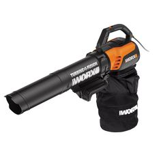WORX Trivac Corded Electric Leaf Blower (Vacuum Kit Included) at Lowe's. The high capacity Worx turbine fusion blower/Vac with its powerful dual-stage metal impeller boasts an industry leading mulch ratio. The easy-to-use, Vacuum Reviews, Stage, Portable Air Compressor, Riding Lawn Mowers, Handheld Vacuum, Leaf Blower, Vacuums, All In One, Outdoor Power Equipment