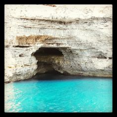 Cueva entre as aguas
