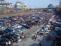 Cleveland Browns Tailgating #dock #pit #muni