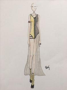 Magdalena Borowicz #mskpu #fashion #fashionillustration #project #fashiondrawing #fashionsketch #illustration #raiseyourself
