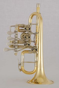 D-Hoch - B/A - Trompete mit Drehventilen