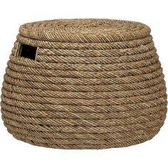 Woven storage basket - Home Decor Organization Ideas