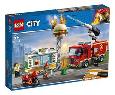 LEGO® City 60214 Feuerwehreinsatz im Burger Restaurant Burger Restaurant, Burger Bar, Local Burger, Star Destroyer, Toy Trucks, Fire Trucks, Hamburgers, Figurine Lego, Toy Playhouse