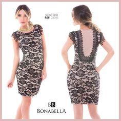 Elegante y sofisticada con Bonabella. Precio: http://bonabella.com.co/producto/vestido-24345-7/