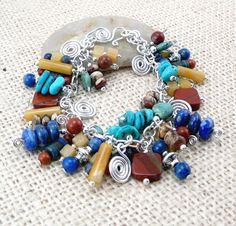 Southwest  Bracelet   Southwestern Jewelry  Cha by TouchOfSilver, $74.00
