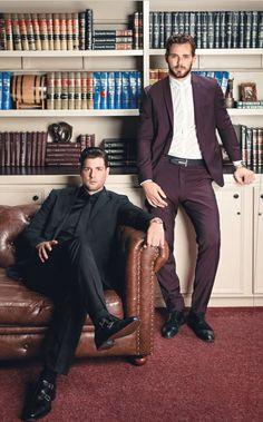 Jamie Benn and Tyler Seguin