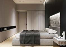 Simple and modern bedroom design