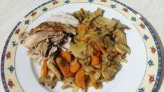 Κοτόπουλο λεμονάτο στην λαδόκολλα για δίαιτα! Meat, Chicken, Food, Meals, Cubs