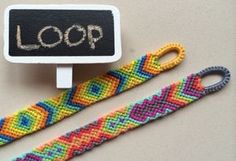 Easy way to make quality loop for your friendship bracelet or any other bracelet. My bracelets on Etsy shop https://www.etsy.com/shop/LinuPoga?section_id=155...