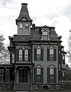 Victorian House Plan chp 44321 at COOLhouseplanscom 3 turrets good