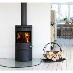 Morso 7600 Series Modern Freestanding Wood Heater