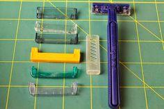 Tämän idean olette nähneet blogissani jo kauan sitten, mutta tämä on niin hyvä kierrätysmateriaalin käyttöidea, että on ihan pakko esi...