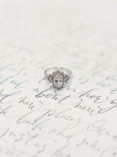 Versailles diamond engagement ring by Claire Pettibone + Trumpet & Horn http://www.trumpetandhorn.com/versailles.html