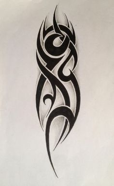 Small Tribal Tattoos, Tribal Forearm Tattoos, Tribal Sleeve Tattoos, Tribal Tattoo Designs, Unique Tattoos, Tattoo Tribal Brazo, Neck Tattoo For Guys, Tattoo Fonts, First Tattoo