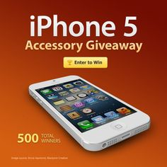 BoxWave is having a giveaway to celebrate the new iPhone 5. Check it out and enter for a chance to win one of hundreds of prizes, including a $500 Apple Gift Card!
