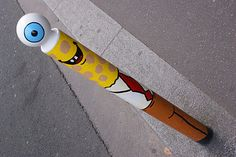 Street Art : Graffitis Mobilier Urbain Paris 75013 - Le blog de Chris ...   Mobilier et objets urbains anciens   Scoop.it