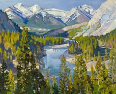 Artwork: Bow Valley by Carl Rungius