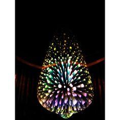 Dizajnová 3D LED žiarovka 3W bulb-vintage, E27, RGB viacfarebná Bulb, Led, Lighting, Vintage, Google, Home Decor, Decoration Home, Room Decor, Onions