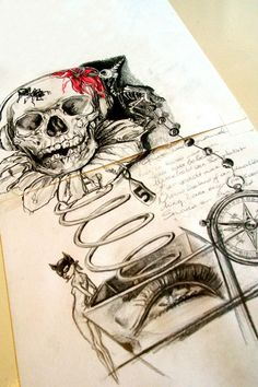 Tattoo sketch, Nat-Art Tattoo, Natascha Sastra.
