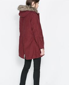 red parka please