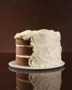 Before you make your next cake, browse this collection of frosting recipes. They're spoon-licking good! We've got dark-chocolate ganache, basic buttercream, cream cheese frosting, and more.