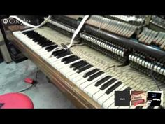 How To Tune a Wurlitzer spinet Upright Piano Step by Step full version Tutorial - YouTube