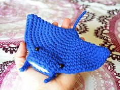 Ravelry: Mortimer Manta Ray pattern by Patricia Castillo
