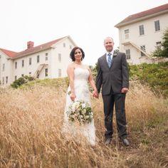 Rustic Navy Blue Outdoor Wedding  Wedding Real Weddings Photos on WeddingWire