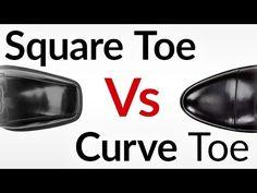 Squared Vs. Curved Toe Shape Dress Shoes