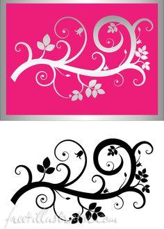 flourish swirl vector free