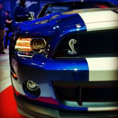 Ford Mustang Cobra via Instagram @Yorktrogers #NYIAS