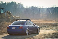 """Marc's Bagged & Wrapped Audi A4 """"Paint is dead"""" by WhitbeckPhoto.com, via…"""