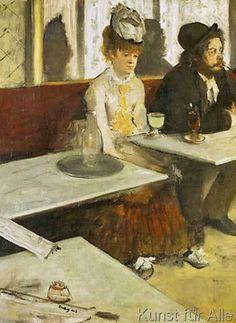 Edgar Degas - E.Degas, Der Absinth / 1876