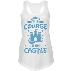 Princess Run Race Tank Top | You are not your grandmother's version of a princess. You don't need to spend all of your days cooped up in a castle, waiting for some nerdy prince to save you. You like to get out on the course and sculpt your body by running. If some prince wants you, he will have to catch you first.