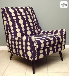 I really like this pattern. It's fairly bold, but still laid-back and fun. Not a fan of the color though, but a brown and blue or a black and silver or blue and silver would be way cool.