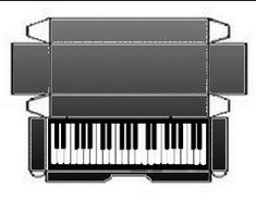 caixa teclado