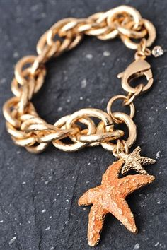You're A Star Bracelet in Orange - $12