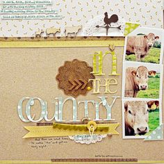#papercraft #scrapbook #layout.  How to Push Your Scrapbook Page Pattern Story |Sian Fair | Get It Scrapped