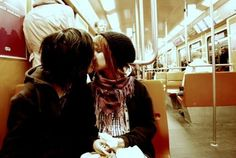 # lesbian kiss in the public