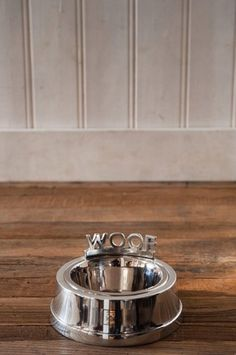 Riviera Maison Dog Bowl Woof S, Sisustus Trendo