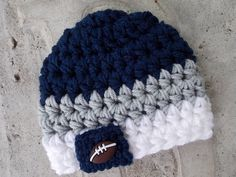 NFL Dallas Cowboys inspired baby hat  newborn size  by LadybugLB, $13.00