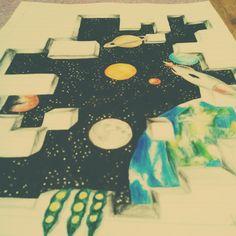 My draw galaxy