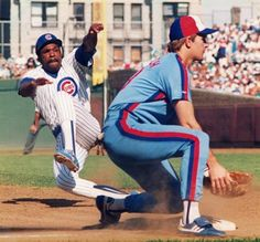 In this file photo from 1998 Andre Dawson steals third base at Wrigley Field in Chicago Illinois Dawson was elected in to the Hall of Fame on. Baseball Movies, Baseball Star, Baseball Photos, Baseball Players, Chicago Cubs Fans, Chicago Cubs Baseball, Chicago Illinois, Montreal, Cubs Players