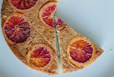 Bon Appétempt: Almond, Ricotta, and Polenta Cake (with Blood Oranges)