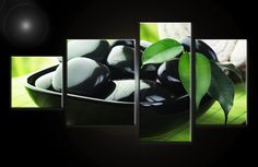 Obraz na plátne 4 dielny Feng Shui