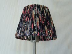 Lampshade from textile yarn